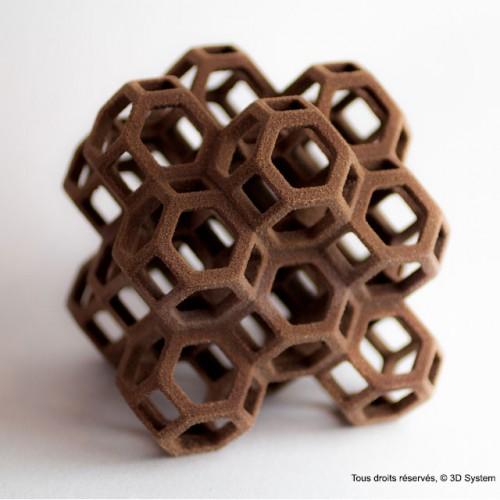 Chocolat en impression 3D par 3D System